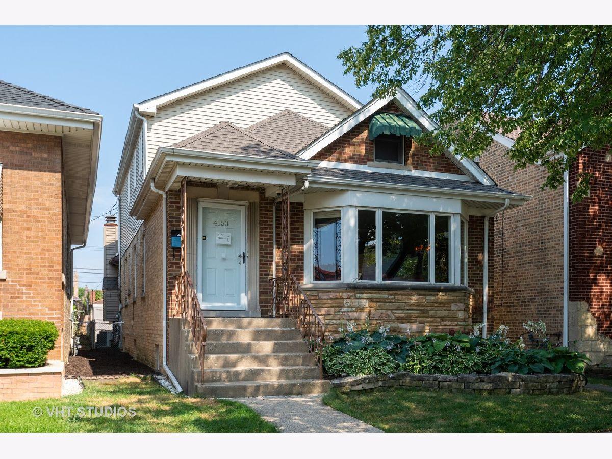 Chicago Bungalow Rehab For Sale In 60634: 4153 Austin Avenue, Chicago, Illinois 60634